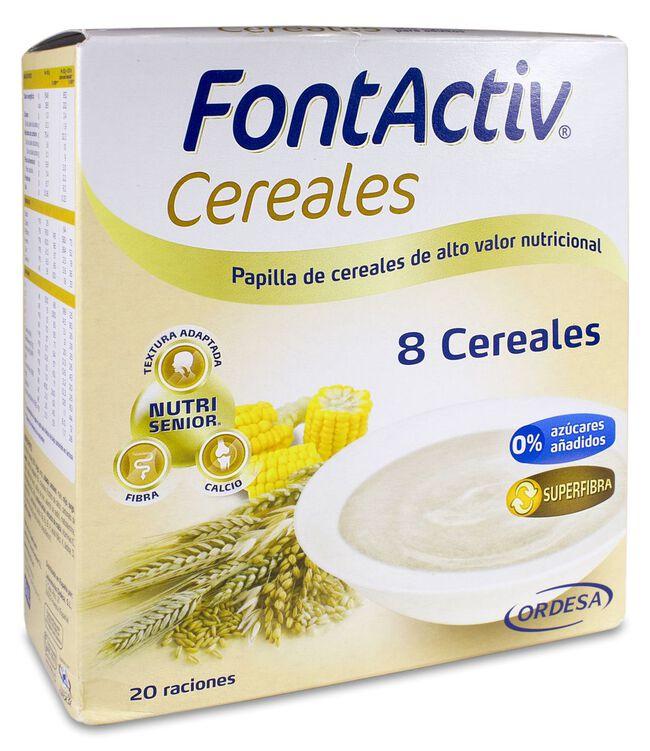 Fontactiv 8 Cereales, 600 g