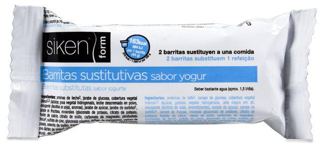 Siken Barritas Sabor Yogur, 24 Unidades