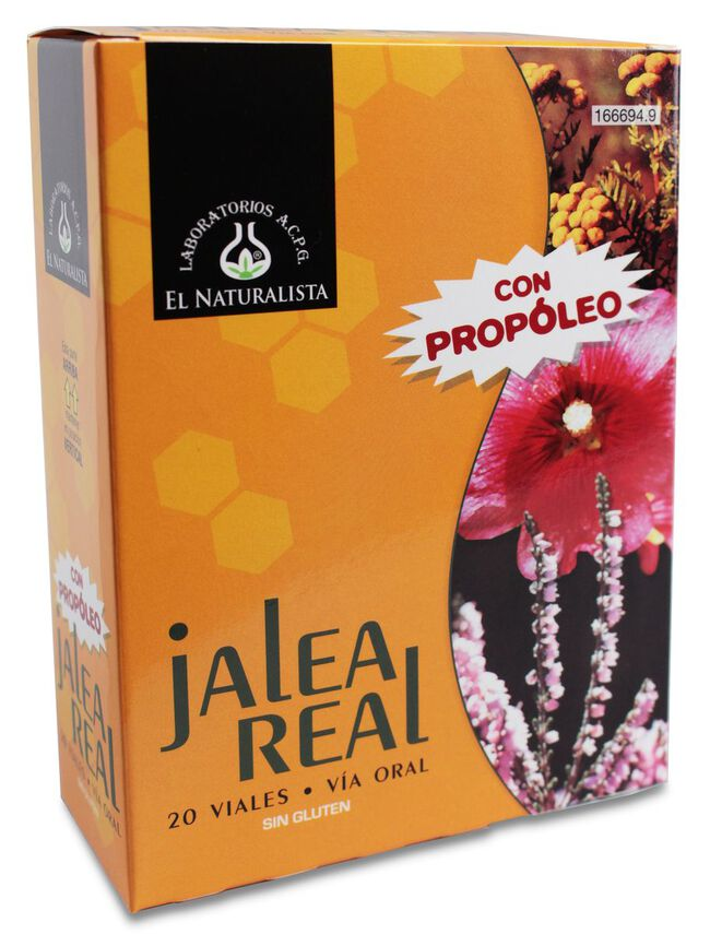El Naturalista Jalea Real, 20 Viales