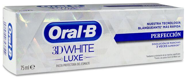 Oral-B 3D White Luxe Perfección Pasta de Dientes, 75 ml