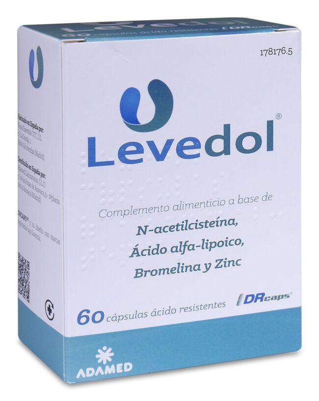 Levedol, 60 Cápsulas