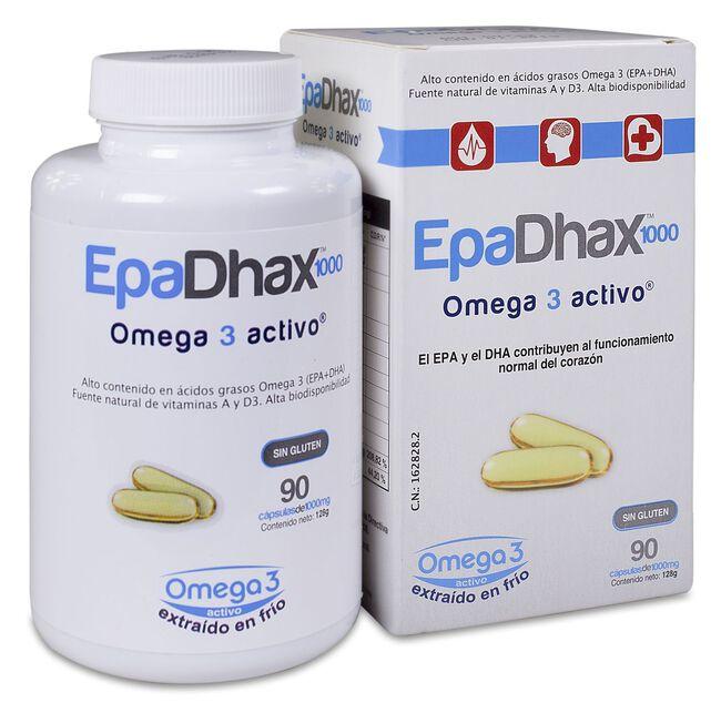 EpaDhax Omega 1000 mg, 90 Cápsulas