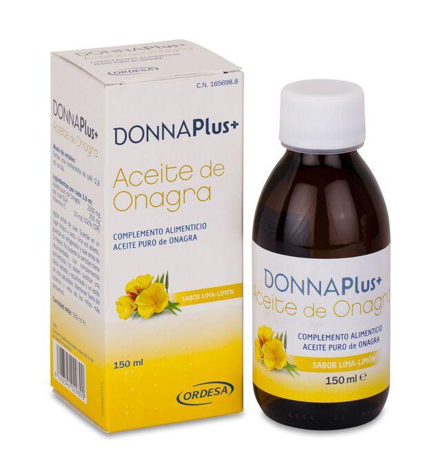 DonnaPlus+ Aceite de Onagra Líquido, 150 ml