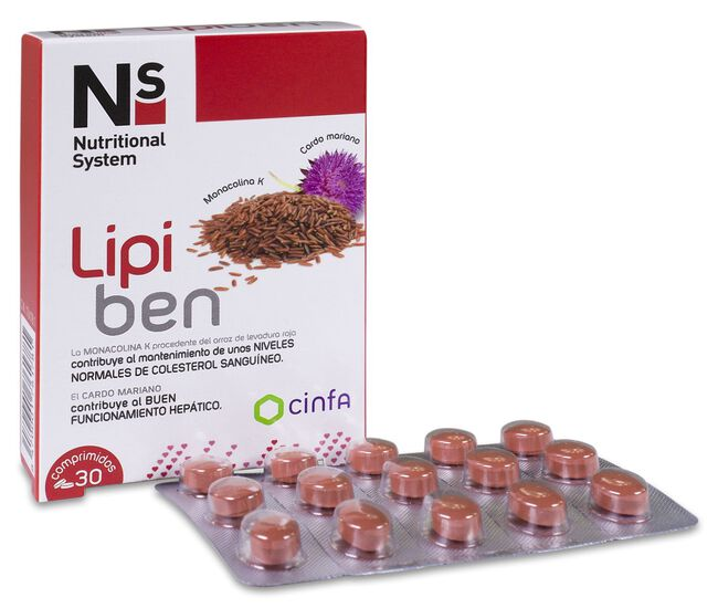 Ns Lipiben, 30 Comprimidos