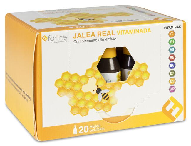 Farline Jalea Real Vitaminada, 20 Viales