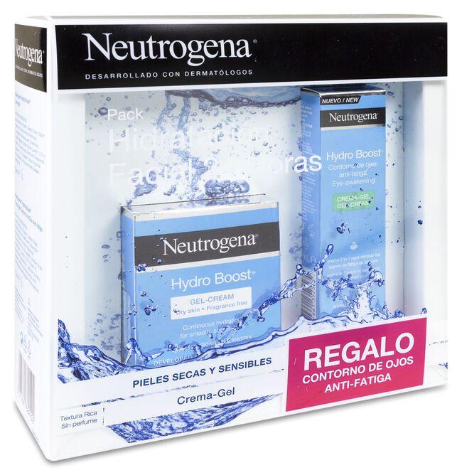 Pack Neutrogena Hydro Boost Piel Seca y Sensible