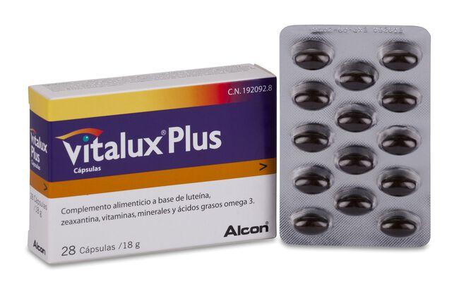 Vitalux Plus, 28 Cápsulas