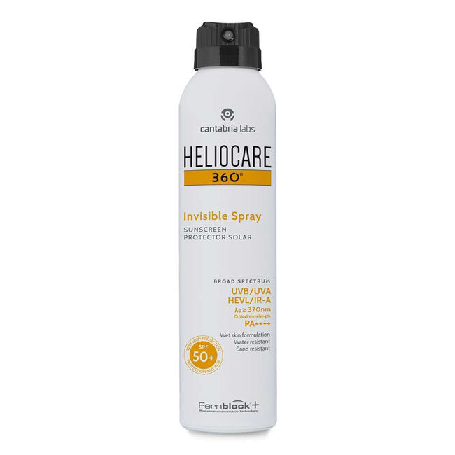Heliocare 360º Invisible Spray SPF 50+, 200 ml image number null