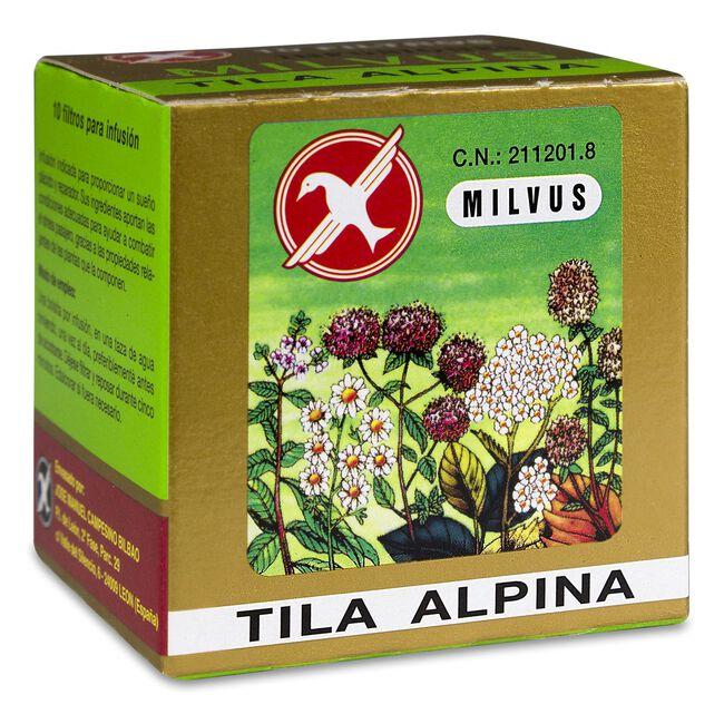 Milvus Tila Alpina, 10 Filtros, 10 Sobres