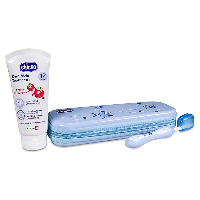 Chicco Set de Higiene Oral Azul, 1 Ud