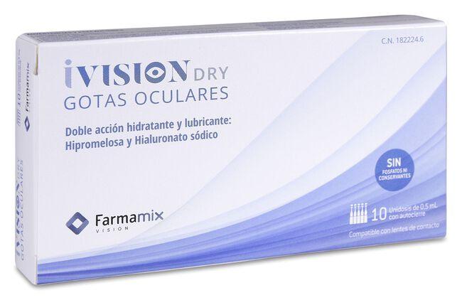 iVisión Dry Gotas Oculares, 10 uds