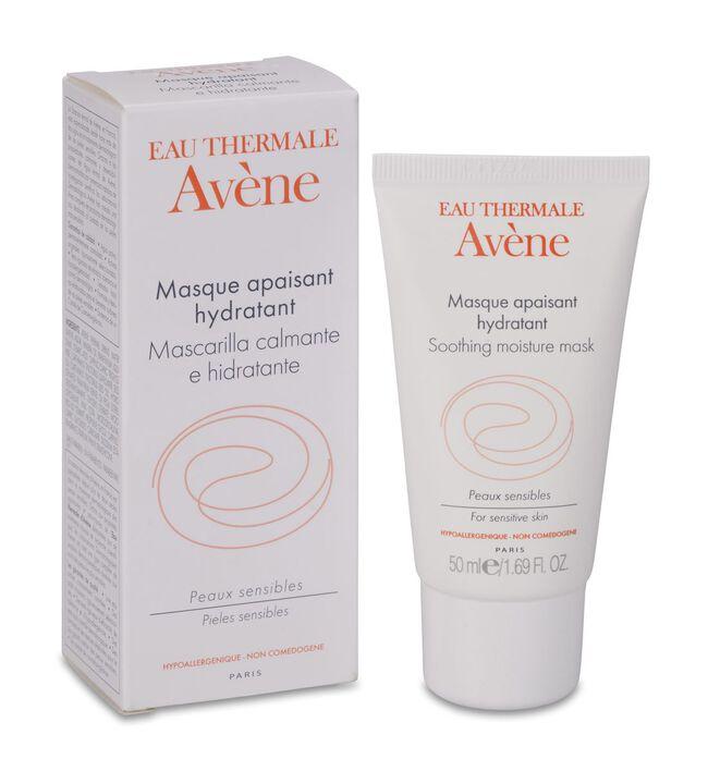 Avène Mascarilla Calmante Hidratante, 50 ml