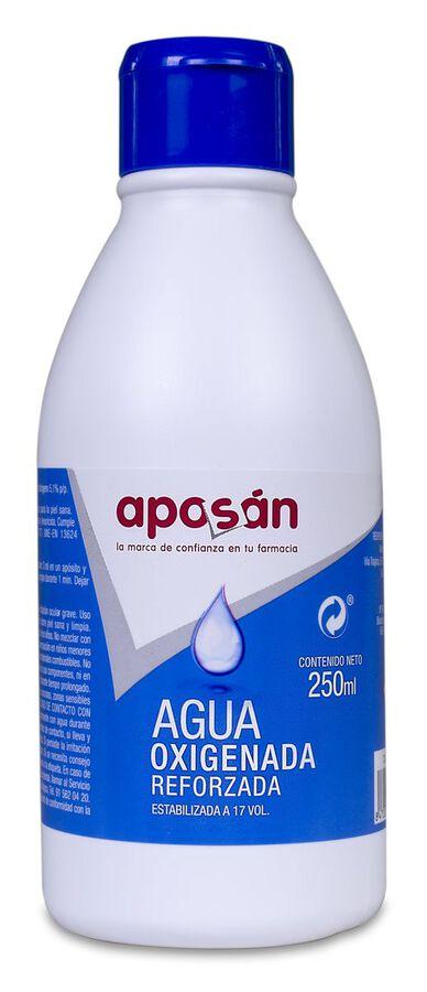 Aposán Agua Oxigenada Reforzada, 250 ml