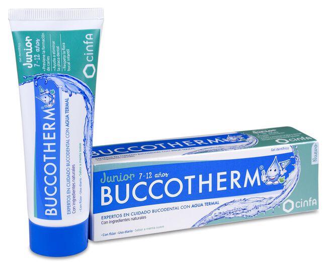 Buccotherm Gel Dentífrico Junior 7-12 años, 50 ml