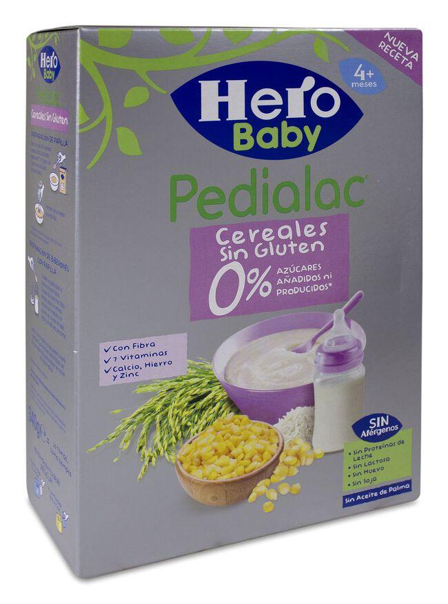 Hero Baby Pedialac Papilla Cereales Sin Gluten, 340 g