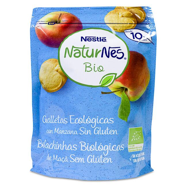 Nestlé Naturnes BIO Galletas de Manzana sin Gluten