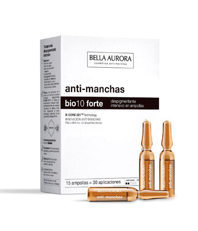 Bella Aurora Bio 10 Forte Anti-manchas, 15 Ampollas