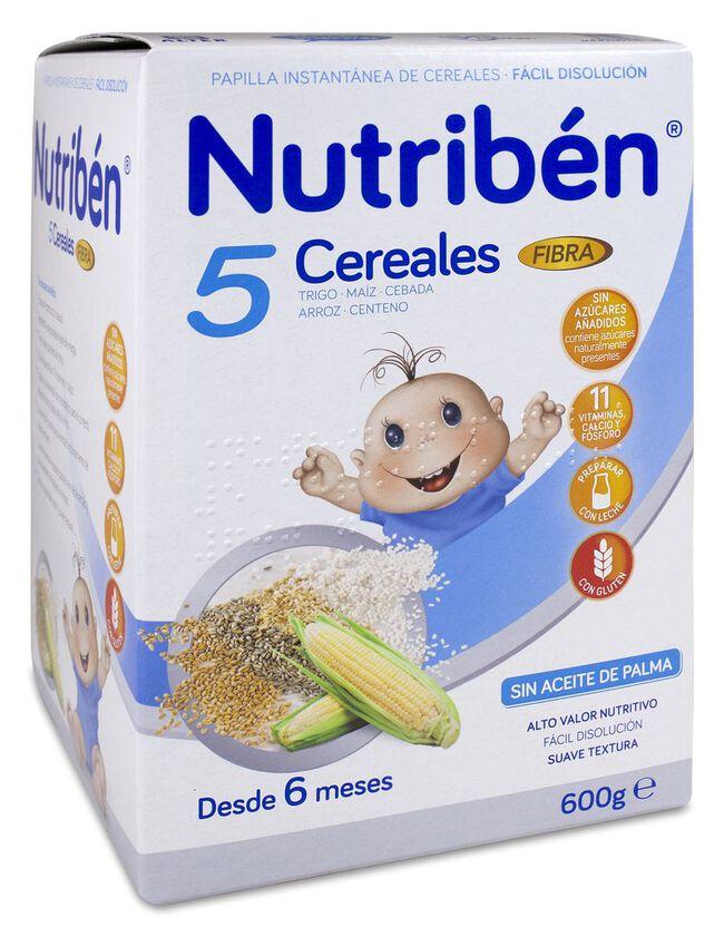 Nutribén 5 Cereales Fibra, 600 g