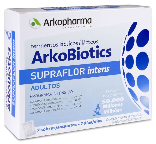 Arkopharma Arkobiotics Supraflor Intens Adultos, 7 Sobres