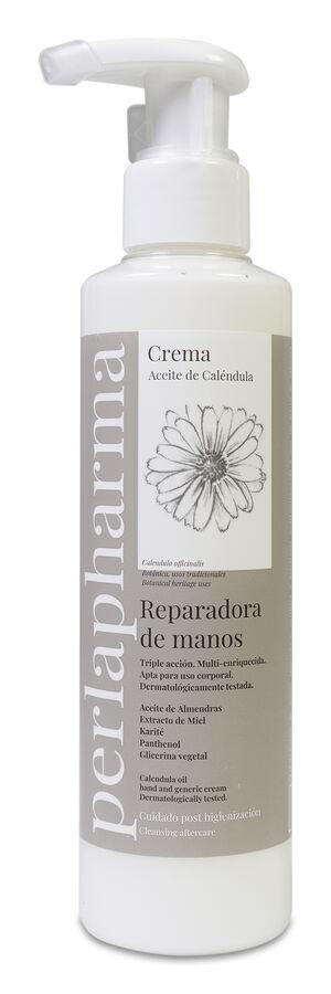 Perlapharma Crema Manos Post-higienización, 200 ml