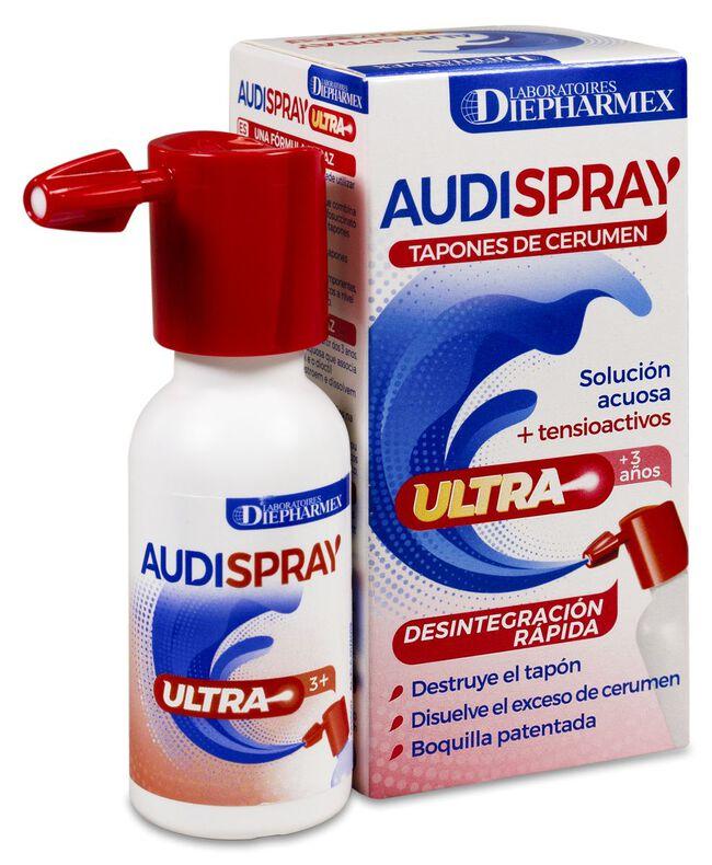 Audispray Ultra Tapones de Cerumen, 20 ml