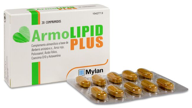 ArmoLipid Plus, 20 Comprimidos