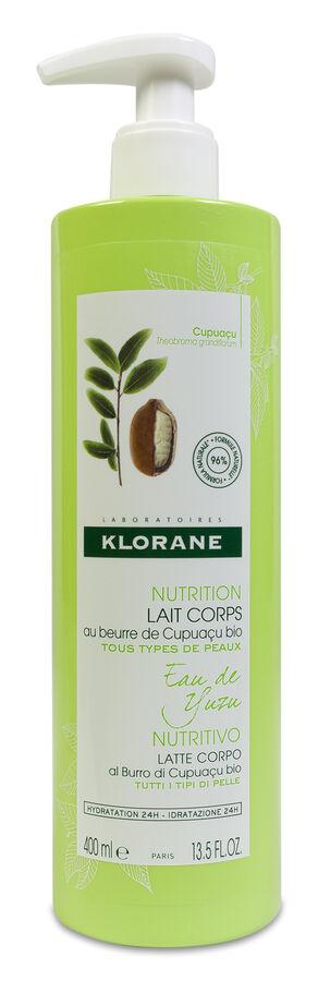 Klorane Eau de Yuzu Leche Corporal, 400 ml