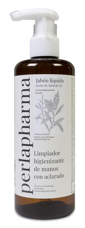 Perlapharma Jabón Líquido Higienizante con Árbol de Té, 300 ml
