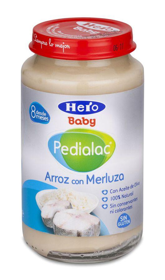 Pedialac Arroz con merluza Hero Baby, 235 g