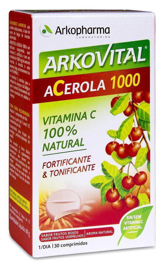 Arkovital Acerola 1000, 30 Comprimidos