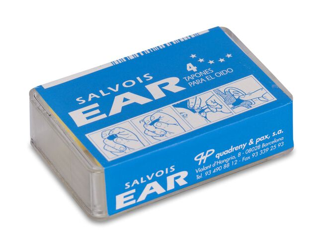 Salvois Tapón Ear Espuma, 4 Uds