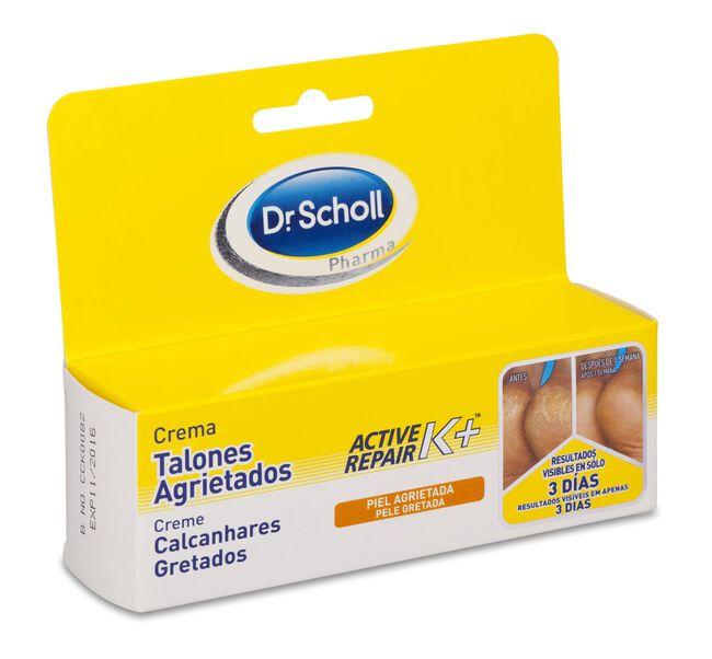 Scholl Crema Talones Agrietados con Active Repair K+, 60 ml