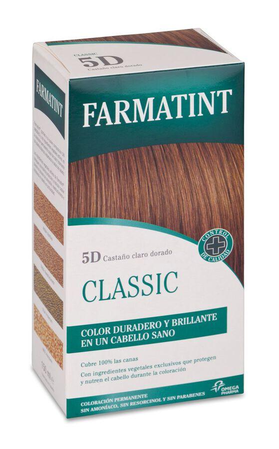 Farmatint Classic Tinte Capilar 5D Castaño Claro Dorado, 1 Ud
