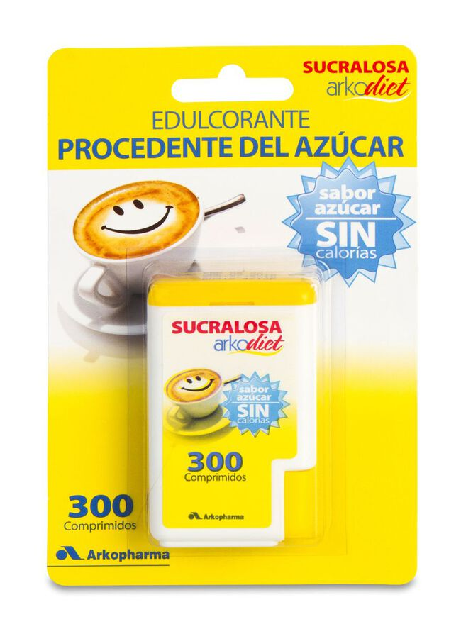 Arkopharma Arkodiet Sucralosa, 300 Comprimidos