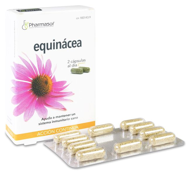 Pharmasor Equinácea, 30 Cápsulas
