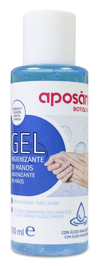 Aposán Gel Limpiador de Manos con Ácido Hialurónico, 100 ml