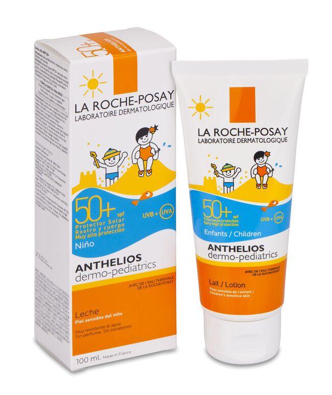 La Roche-Posay Anthelios Dermopediatrics Leche SPF 50+, 100 ml