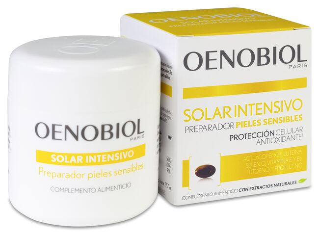 Oenobiol Solaire Intensif Nutriprotección Pieles Claras, 30 Cápsulas