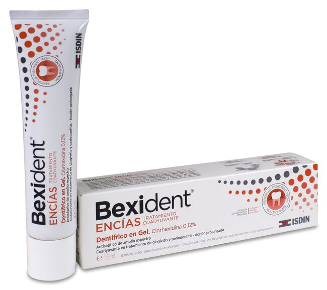 Isdin Bexident Encías Gel Dentífrico, 75 ml