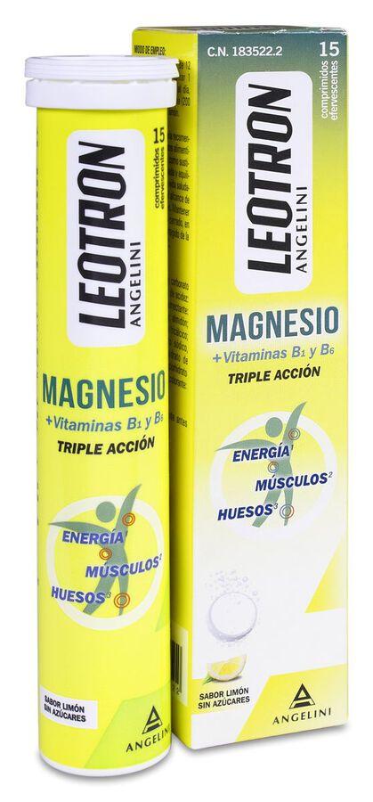 Leotron Magnesio, 15 Comprimidos
