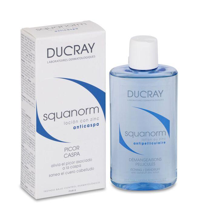 Ducray Squanorm Loción Anticaspa con Zinc, 200 ml