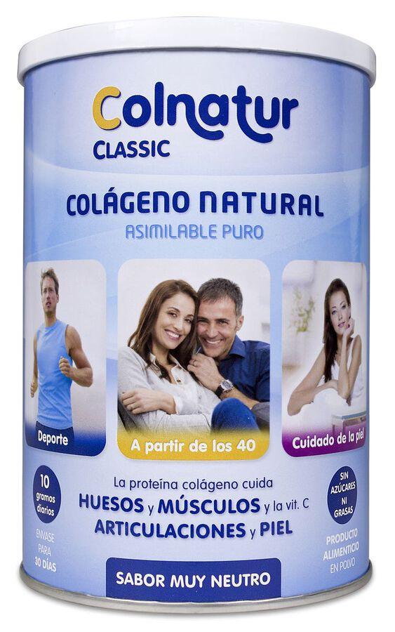 Colnatur Classic Colágeno Natural Sabor Neutro, 300 g