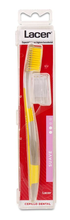 Lacer Cepillo de Dientes Technic Suave, 1 Ud
