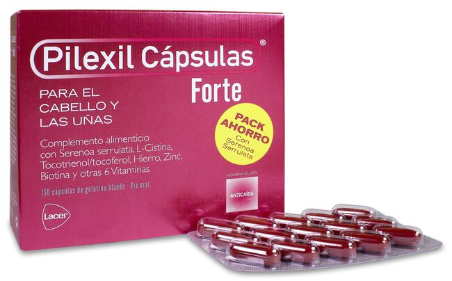 Pilexil Forte Cápsulas, 150 Uds