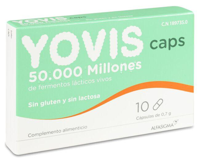 Yovis Probióticos, 10 Cápsulas