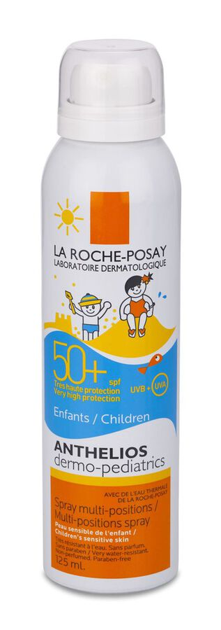 La Roche-Posay Anthelios SPF 50+ Dermopediatrics Spray, 125 ml