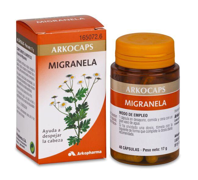 Arkopharma Arkocápsulas Migranela, 48 Cápsulas