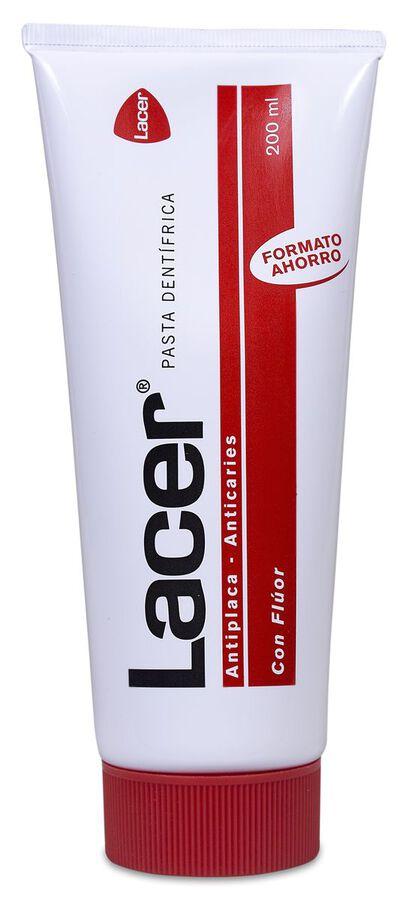 Lacer Pasta Dentífrica con Flúor, 200 ml
