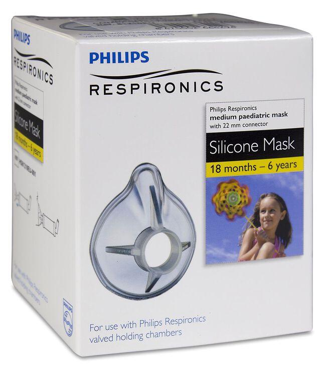 Philips OptiChamber Mascarilla Infantil, 1 Ud