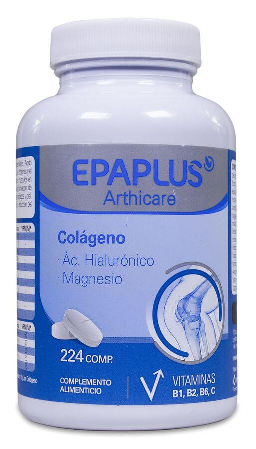 Epaplus Colágeno + Hialurónico +Magnesio, 224 Comprimidos